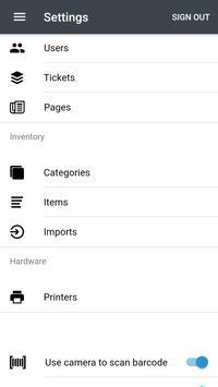 Circle Point of Sale - ICU Electronics apk screenshot