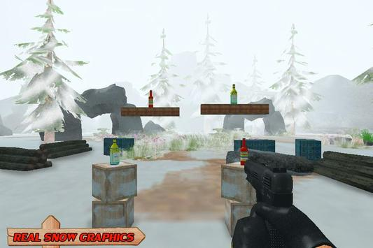 Snow Bottle Shooting apk screenshot