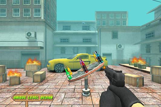 Street Bottle Shooting screenshot 1
