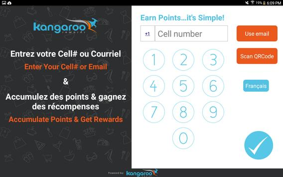 Kangaroo Rewards for Business apk screenshot