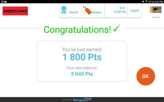 Kangaroo Rewards for Business apk screenshot