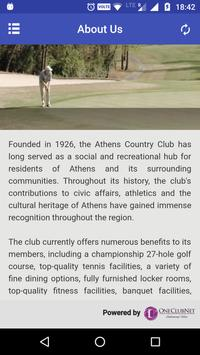 Athens Country Club screenshot 3