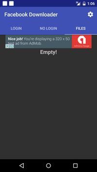 Save Facebook Videos No Login apk screenshot