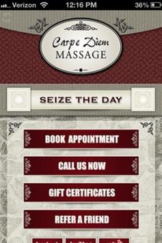 Carpe Diem Massage apk screenshot