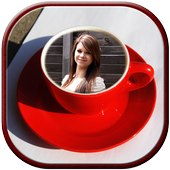 My Photo on Coffee Cup Frame icon
