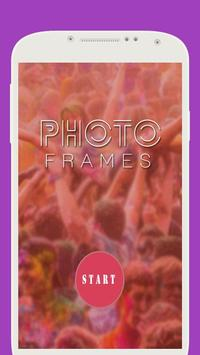 My Photo in Fruit Frame poster