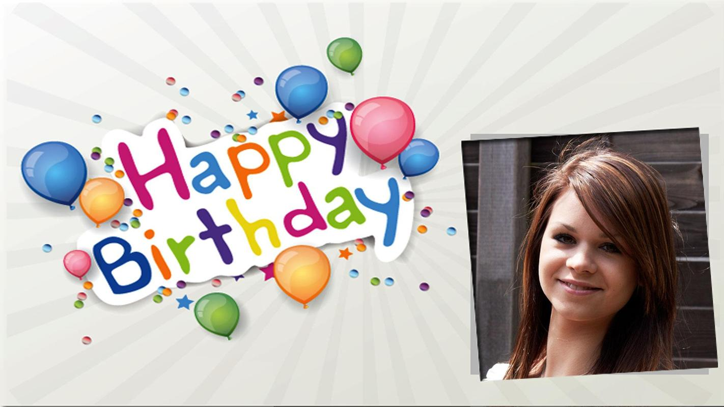 Magnificent Happy Birthday Frames Free Download Composition - Ideas ...