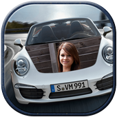 My Racing Car Photo Frames icon