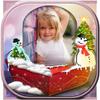 Snow Globe Photo Frame icône