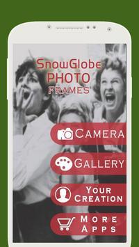 Snow Globe Photo Frame 截图 1