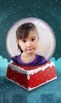 Snow Globe Photo Frame screenshot 2