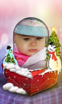 Snow Globe Photo Frame screenshot 4