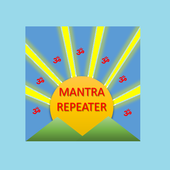 Mantra Repeater : Chant Own Mantra in A Loop icon