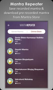 Mantra Repeater : Chant Own Mantra in A Loop apk screenshot