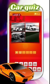 Car Pic Quiz poster