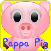 Pappa Pig Dress Up icon