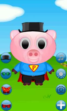 Pappa Pig Dress Up screenshot 1