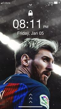 Messi 4K HD Wallpapers & PIN Lock Screen screenshot 4