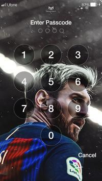 Messi 4K HD Wallpapers & PIN Lock Screen screenshot 5