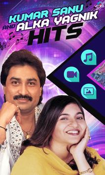 Kumar Sanu & Alka Yagnik Hits poster