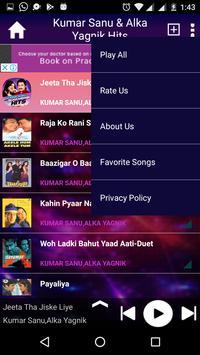 Kumar Sanu & Alka Yagnik Hits screenshot 6