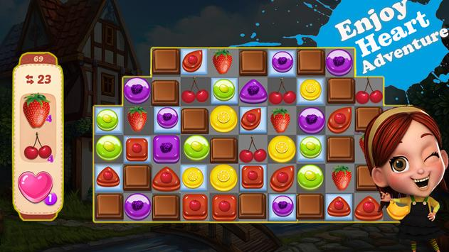 Heart Match: Fun Free Match 3 Games screenshot 1