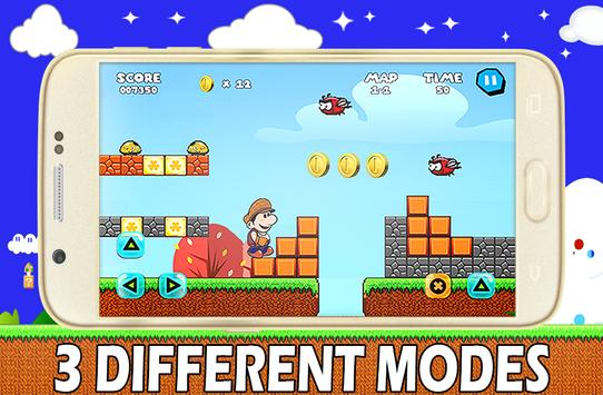 Super Adventures Gold of Mario apk screenshot