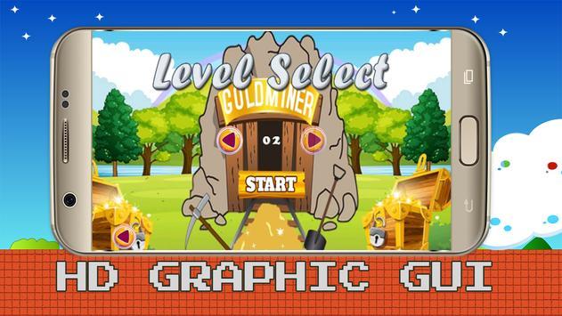 Super Adventures Gold of Miner apk screenshot