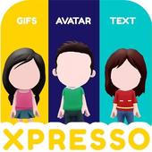 XPRESSO Memoji 3D Avatar Anime Animoji Gif Sticker icon