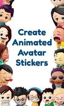 XPRESSO Memoji 3D Avatar Anime Animoji Gif Sticker poster
