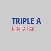 Triple A Rent a Car icon