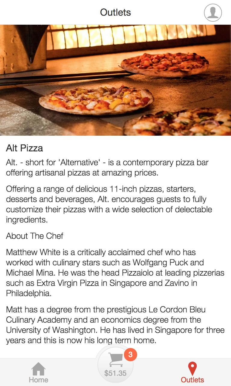 Alt Pizza poster