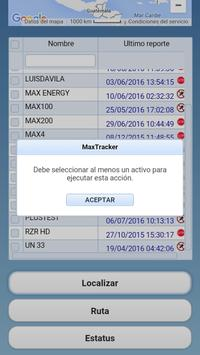 MaxTracker Mobil screenshot 4
