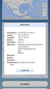 MaxTracker Mobil screenshot 5