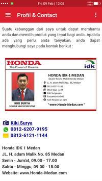 Honda Medan screenshot 5
