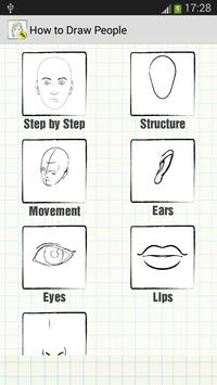 How to Draw People screenshot 1