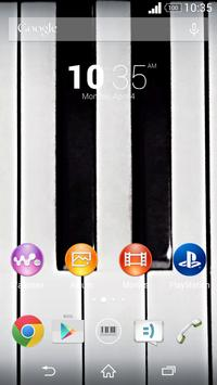 Piano - Xperia Theme apk screenshot