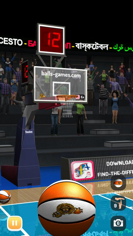 Basketball 3d games free download