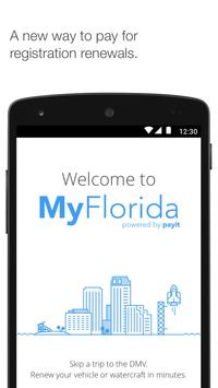 MyFlorida for the FLHSMV poster