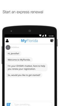 MyFlorida for the FLHSMV apk screenshot