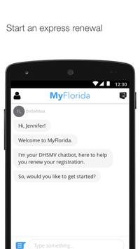 MyFlorida screenshot 1