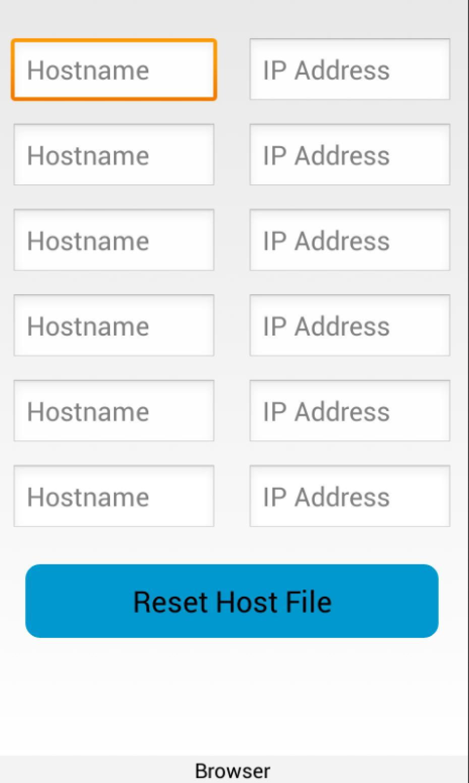 Hosts Spoofer for Android - APK Download