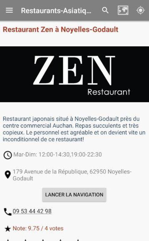 Restaurants Asiatiques For Android Apk Download