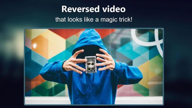 Reverse Movie FX - magic video पोस्टर