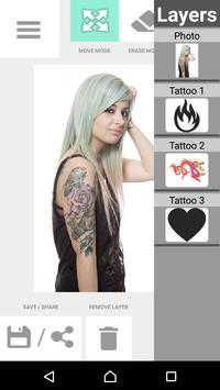 Tattoo my Photo 2.0 apk screenshot