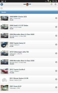 Used Cars For Sale apk screenshot