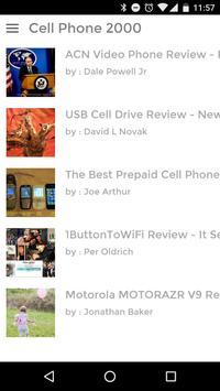Cell Phone 2000 apk screenshot