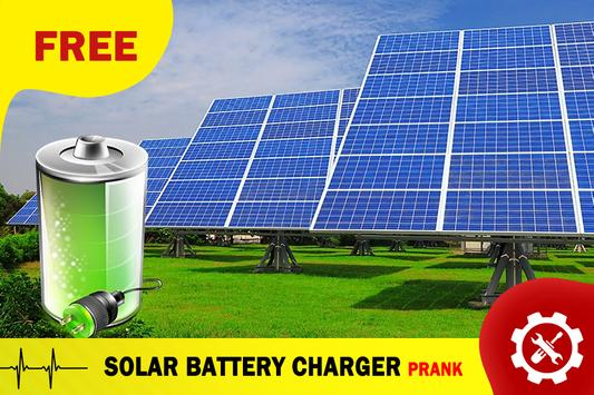 Solar Battery Charger Prank poster