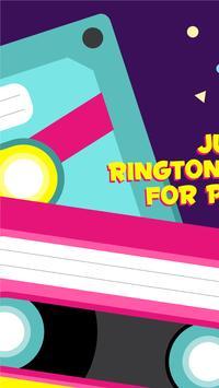 Fire Rave Music Ringtone Notification poster