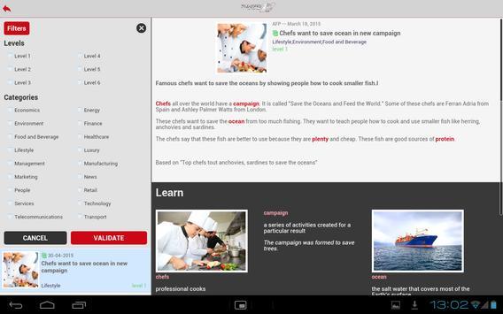 Transfer eLearning screenshot 8